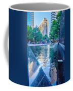 Skyline And City Streets Of Charlotte North Carolina Usa Coffee Mug