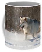Wolf In Winter Coffee Mug