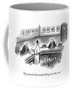 Hey, Investor Fears Need Calming Over Here, Too Coffee Mug
