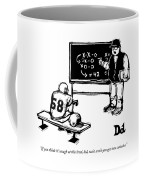 If You Think It's Tough At This Level Coffee Mug