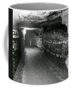 Skulls And Bones In The Catacombs Of Paris France Coffee Mug