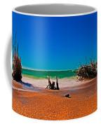 4x1 Florida Beach Panorama 732 Coffee Mug