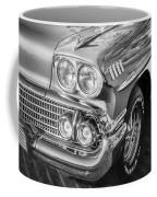 1958 Chevrolet Bel Air Impala Painted Bw  Coffee Mug
