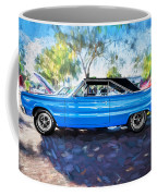1967 Plymouth Belvedere Gtx 440 Painted  Coffee Mug