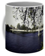 A Wonderful Suspension Bridge Over The River Ness In Inverness Coffee Mug