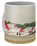 Airplanes At The Airshow Coffee Mug