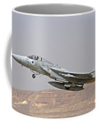 An F-15c Baz Of The Israeli Air Force Coffee Mug