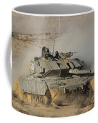 An Israel Defense Force Magach 7 Main Coffee Mug