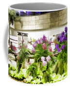 Beautiful Flowers Inside The Changi Airport In Singapore Coffee Mug