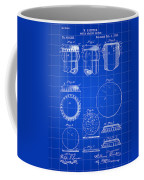 Bottle Cap Patent 1892 - Blue Coffee Mug