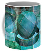 5 By 5 Ocean Geometric Shapes Coffee Mug