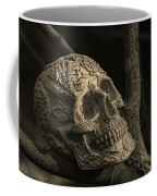 Celtic Skulls Symbolic Pathway To The Other World Coffee Mug