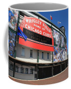Chicago Cubs - Wrigley Field Coffee Mug by Frank Romeo