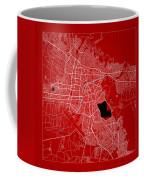 Cochabamba Street Map - Cochabamba Bolivia Road Map Art On Color Coffee Mug