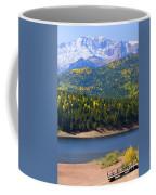 Crystal Lake On Pikes Peak Coffee Mug