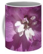 Delphinium Named Magic Fountains Lilac Pink Coffee Mug