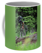 Extreme Biking In Alaska Coffee Mug