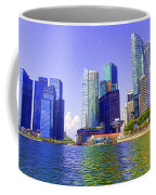 Financial District Of Singapore And View Of The Water In Singapore Coffee Mug