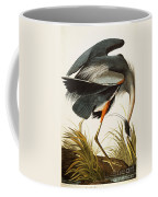 Great Blue Heron Coffee Mug by Celestial Images