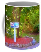 5 Hole Sign On  Golf Course 2 Coffee Mug