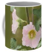 Hollyhock Named Indian Spring Pink Coffee Mug