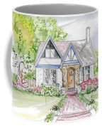 House Rendering Coffee Mug