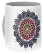 Kaleidoscope Colorful Jeweled Rhinestones Coffee Mug