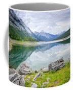 Mountain Lake In Jasper National Park Coffee Mug