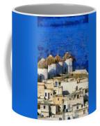 Mykonos Town Coffee Mug