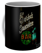 5 O'clock Somewhere Bar Coffee Mug
