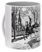 Paul Reveres Ride, 1775 Coffee Mug