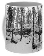 Pine Forest Winter Coffee Mug