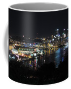 Pittsburgh Skyline At Night Coffee Mug