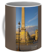 Place De La Concorde Coffee Mug