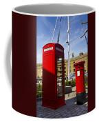 Post Box Phone Box Coffee Mug