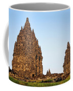 Prambanan Temple In Indonesia Coffee Mug