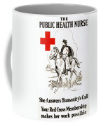 Red Cross Poster, C1917 Coffee Mug