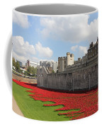 Remembrance Poppies At Tower Of London Coffee Mug