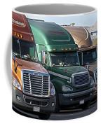 Semi Truck Fleet Coffee Mug