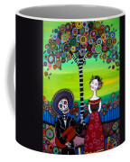 Serenata Coffee Mug by Pristine Cartera Turkus