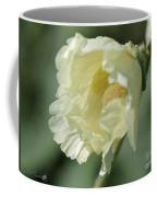 Single Buttercream Hollyhock Coffee Mug