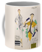 Sketches And Fabric Swatches Coffee Mug