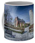 Snow Around Billy Graham Library After Winter Storm Coffee Mug