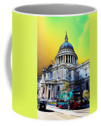St Pauls Cathedral London Art Coffee Mug by David Pyatt