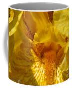 Tall Bearded Iris Named Saharan Sun Coffee Mug