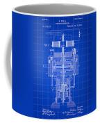 Tesla Electric Generator Patent 1894 - Blue Coffee Mug
