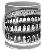 The Majestic Coliseum - Rome Coffee Mug