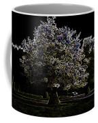 Tree With Large White Flowers Coffee Mug