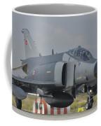 Turkish Air Force F-4 Phantom At Konya Coffee Mug