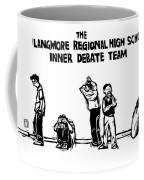 The Langmore Regional High School Inner Debate Coffee Mug